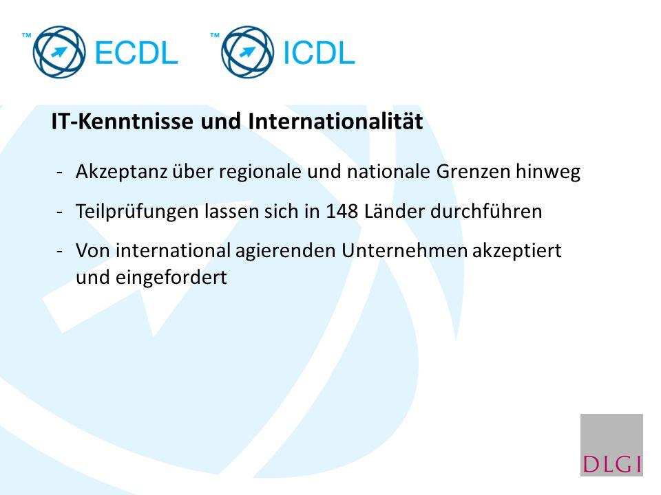 IT-Kenntnisse und Internationalität