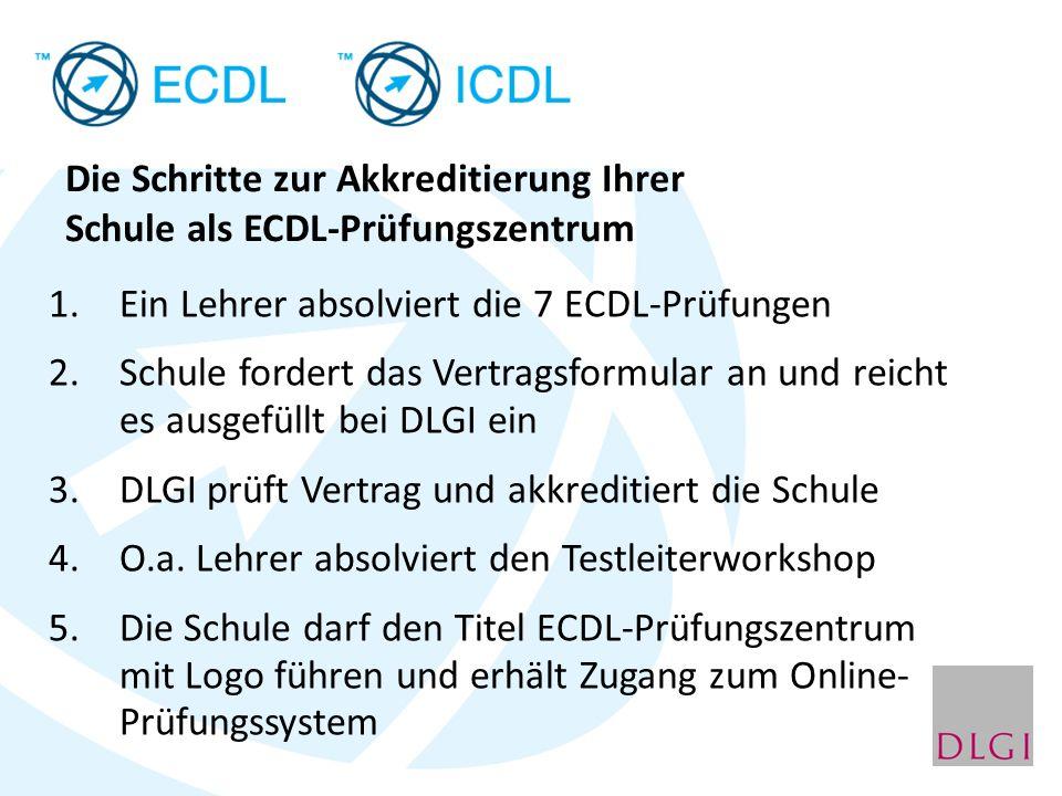 Die Schritte zur Akkreditierung Ihrer Schule als ECDL-Prüfungszentrum