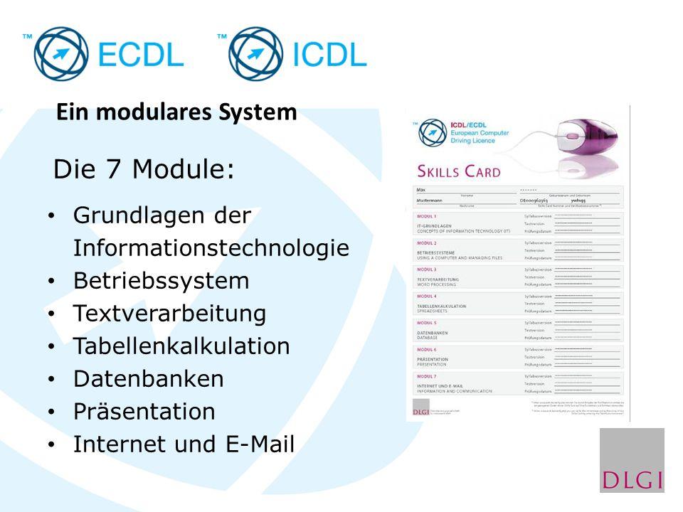 Ein modulares System Die 7 Module: Grundlagen der