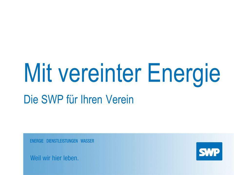 Die SWP für Ihren Verein