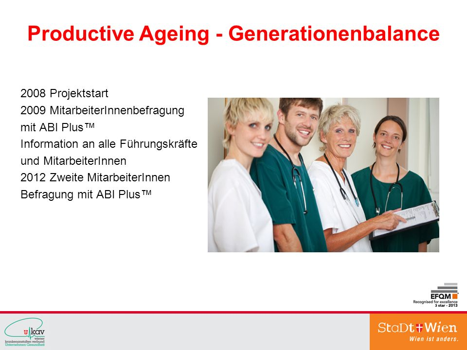 Productive Ageing - Generationenbalance
