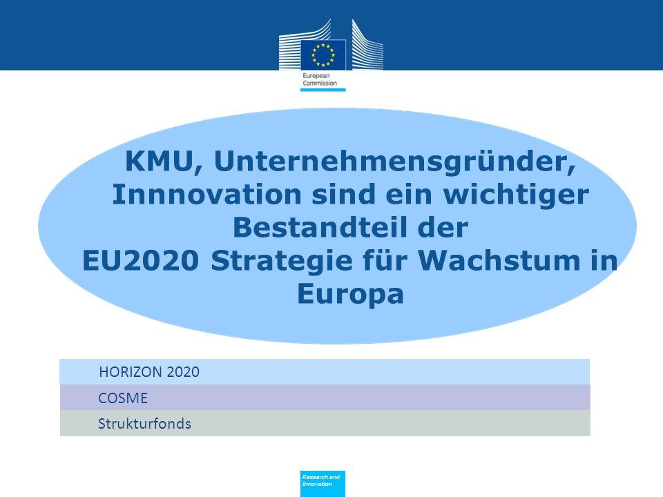 KMU, Unternehmensgründer, Innnovation sind ein wichtiger Bestandteil der EU2020 Strategie für Wachstum in Europa