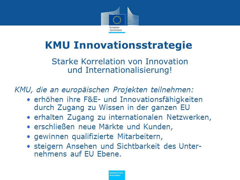 KMU Innovationsstrategie