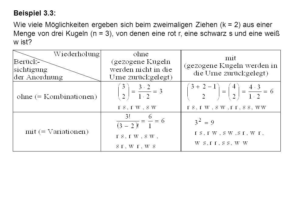 Beispiel 3.3: