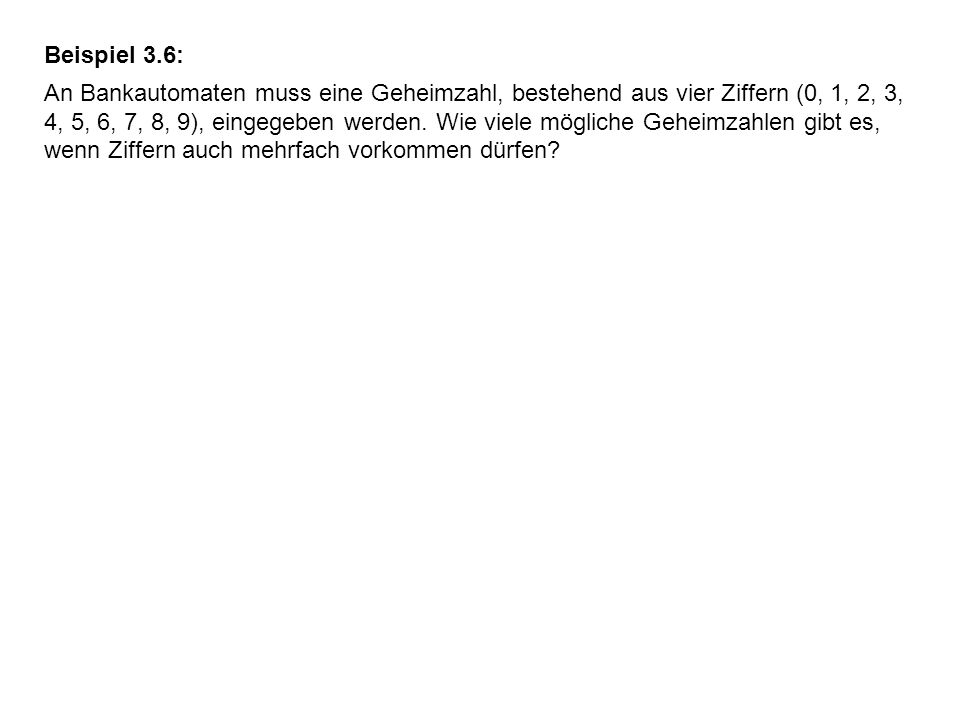 Beispiel 3.6: