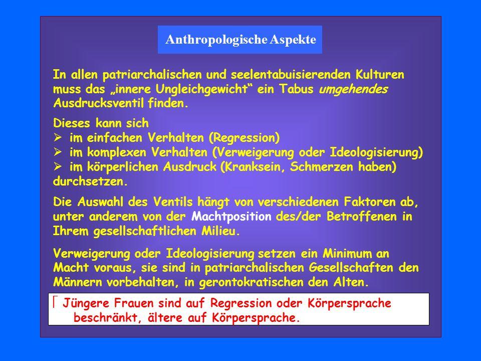 Anthropologische Aspekte