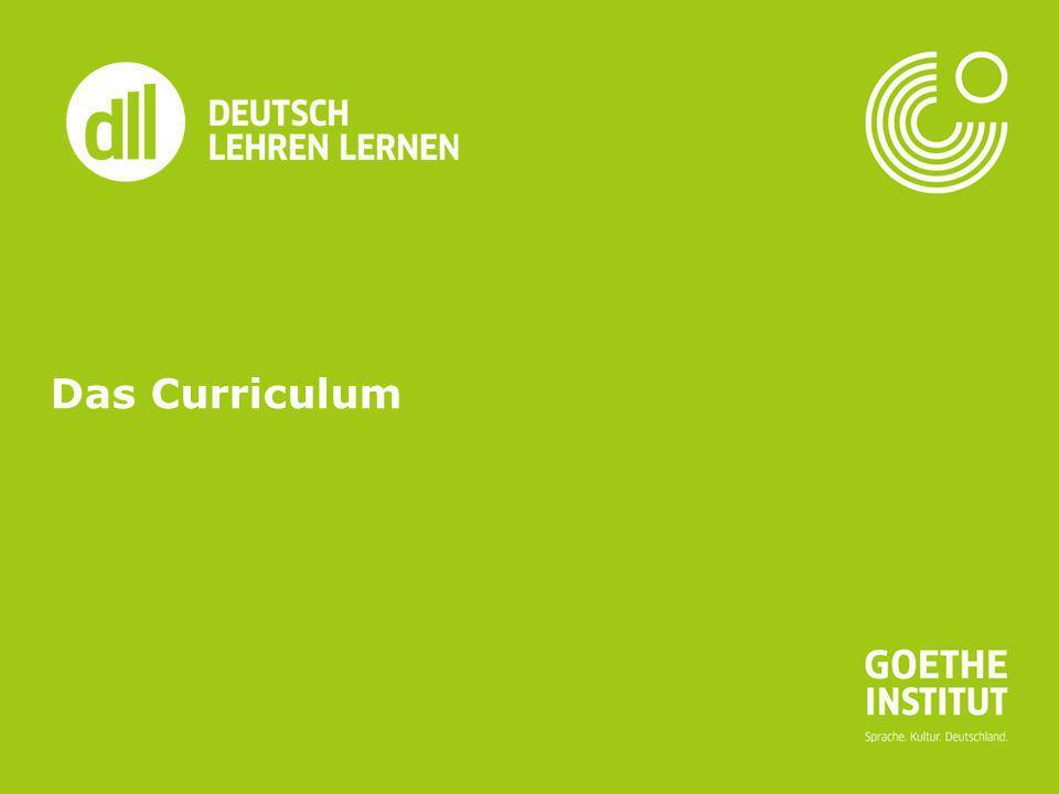 Das Curriculum