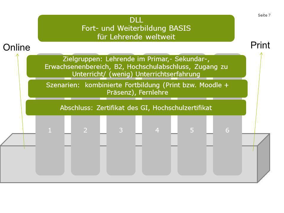 Print Online DLL Fort- und Weiterbildung BASIS für Lehrende weltweit 1