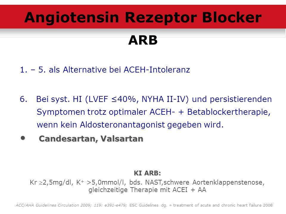 Angiotensin Rezeptor Blocker