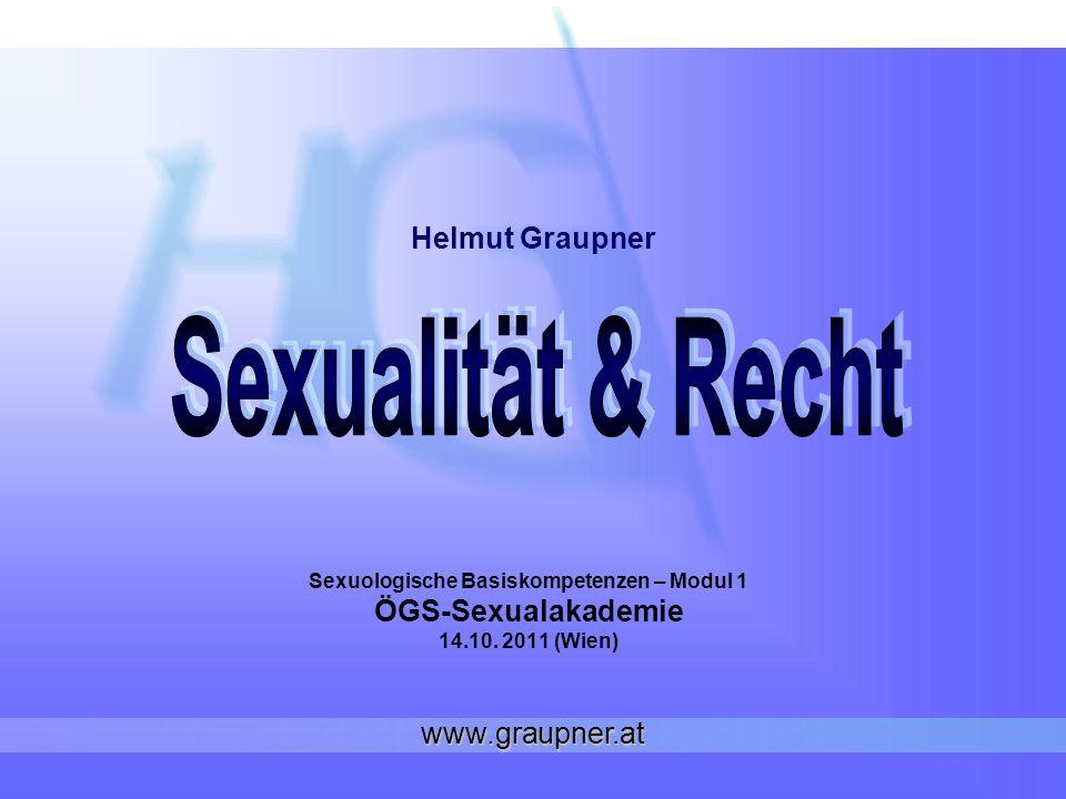 Sexuologische Basiskompetenzen – Modul 1