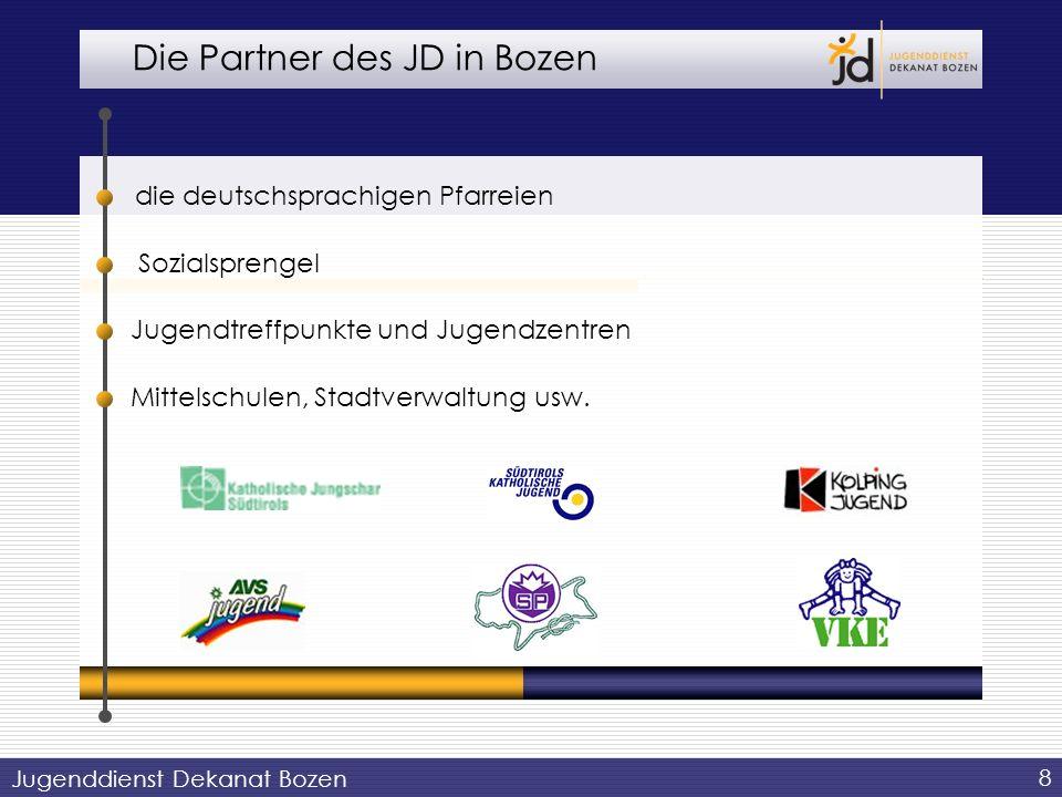 Die Partner des JD in Bozen