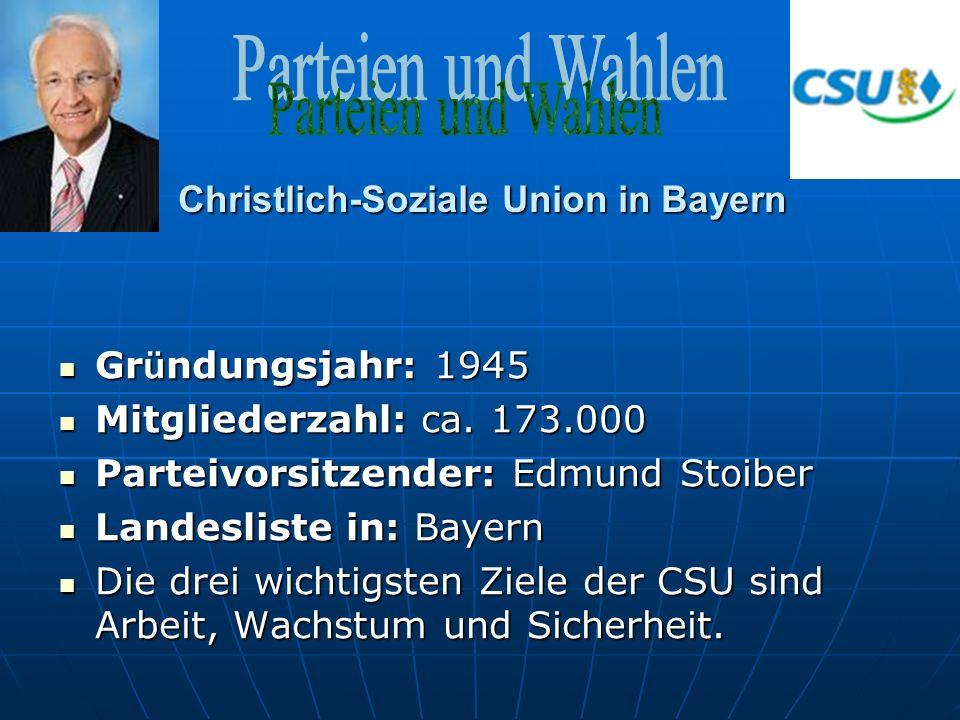 Christlich-Soziale Union in Bayern