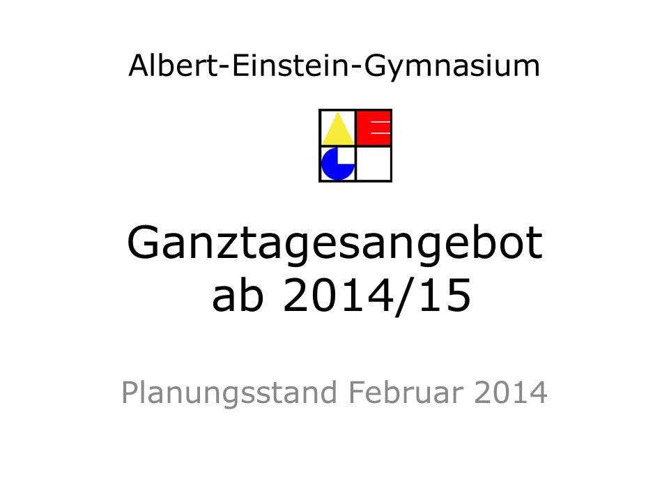 Planungsstand Februar 2014