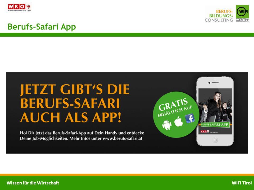 Berufs-Safari App