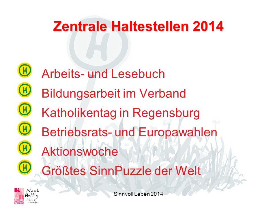 Zentrale Haltestellen 2014