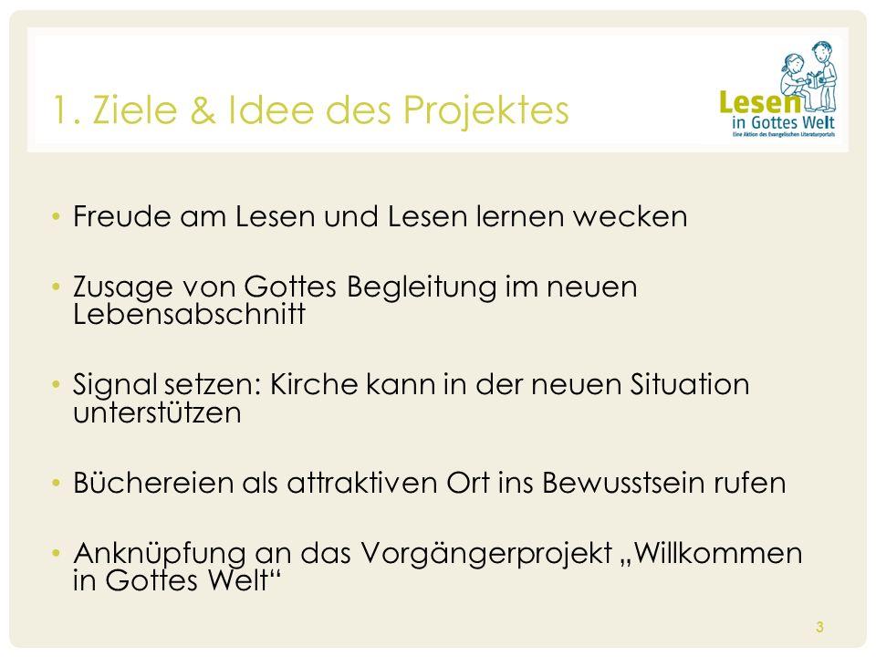 1. Ziele & Idee des Projektes