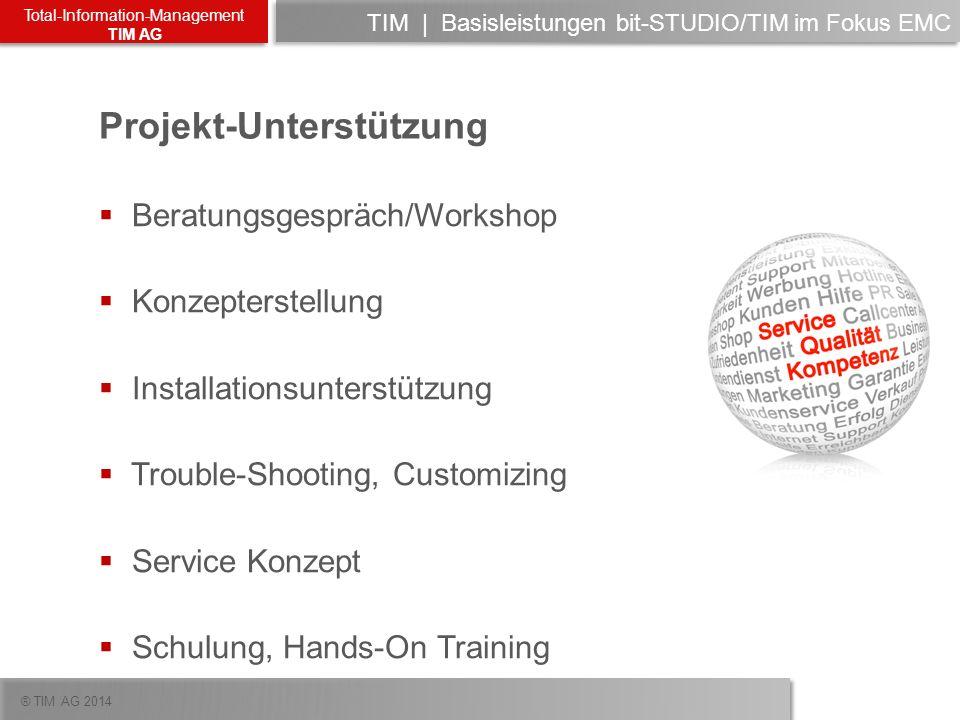 TIM | Basisleistungen bit-STUDIO/TIM im Fokus EMC