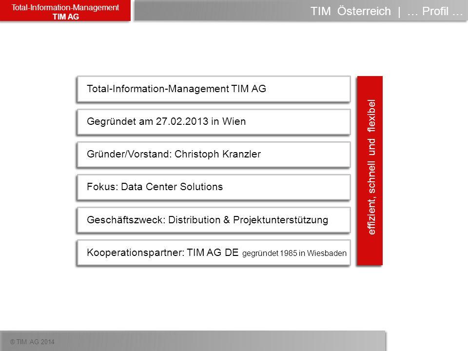 TIM Österreich | … Profil …