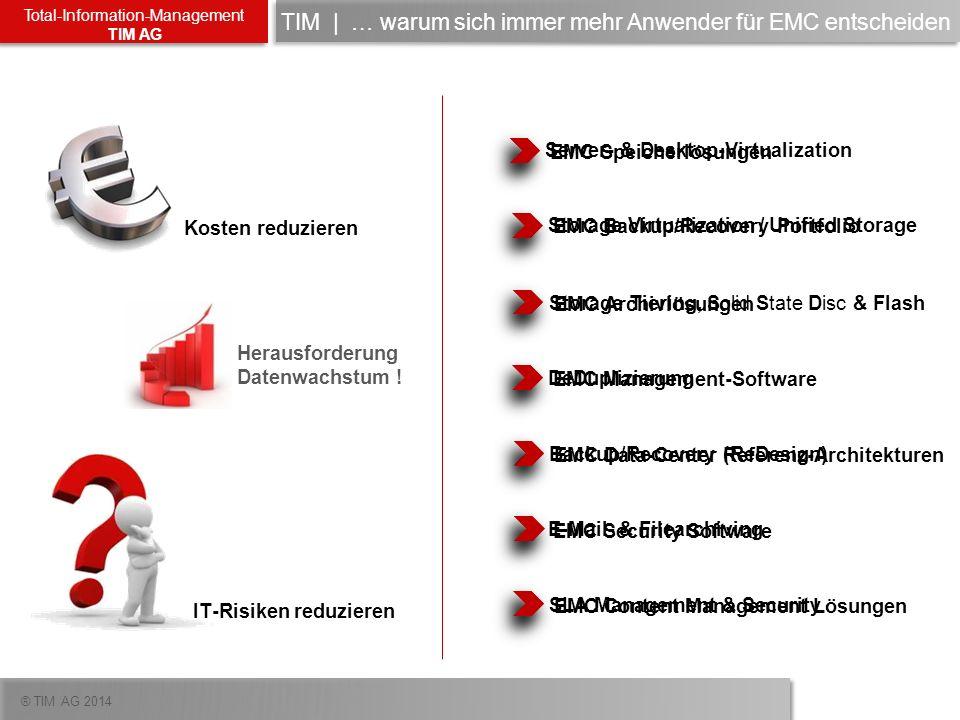TIM | … warum sich immer mehr Anwender für EMC entscheiden