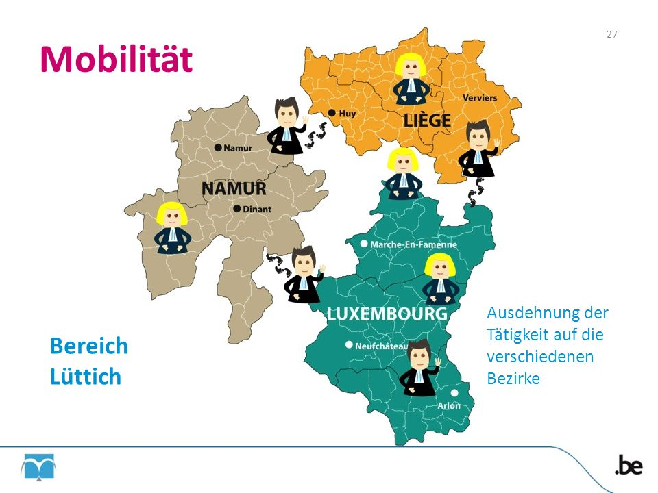 Mobilität Bereich Lüttich