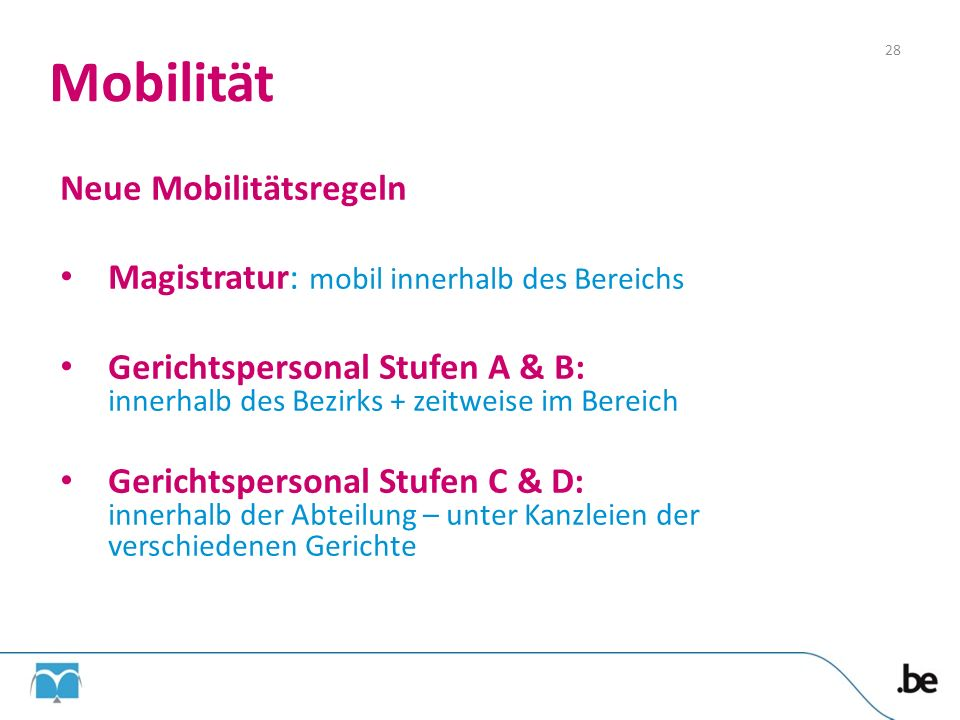 Mobilität Neue Mobilitätsregeln
