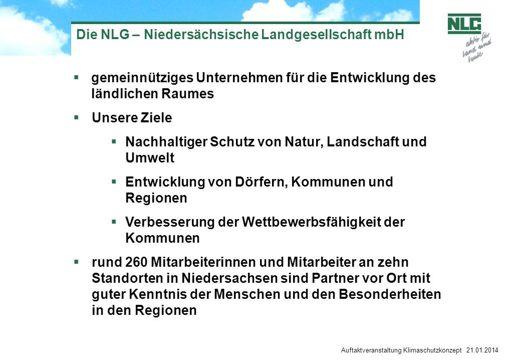 Die NLG – Niedersächsische Landgesellschaft mbH