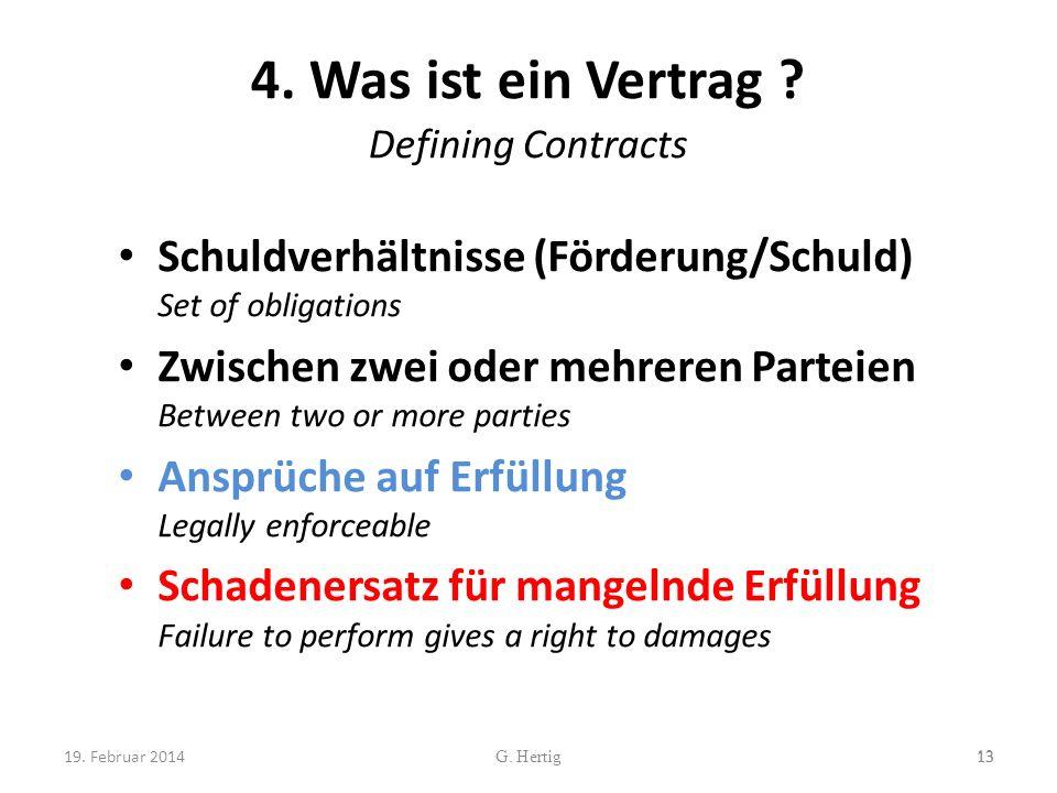 4. Was ist ein Vertrag Defining Contracts