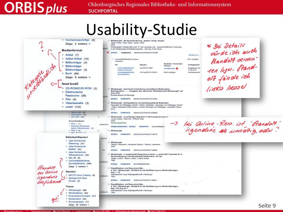 Usability-Studie