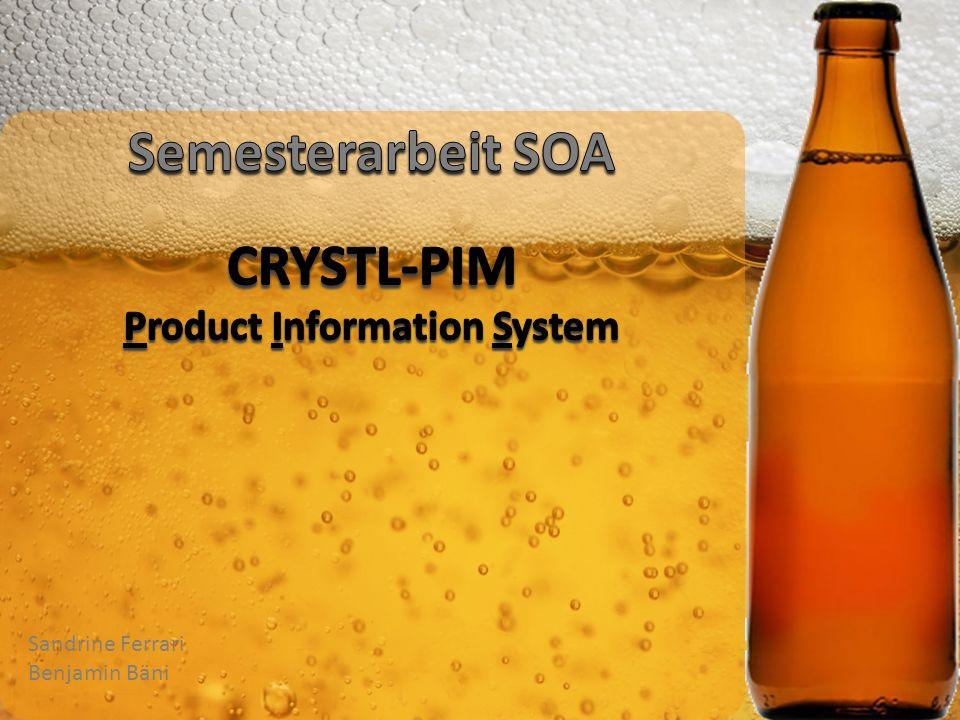 Semesterarbeit SOA CRYSTL-PIM Product Information System