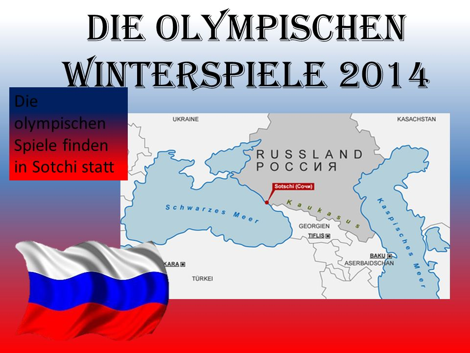 Die olympischen Winterspiele 2014