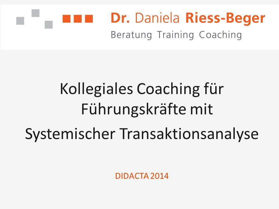 Kollegiales Coaching für Führungskräfte mit