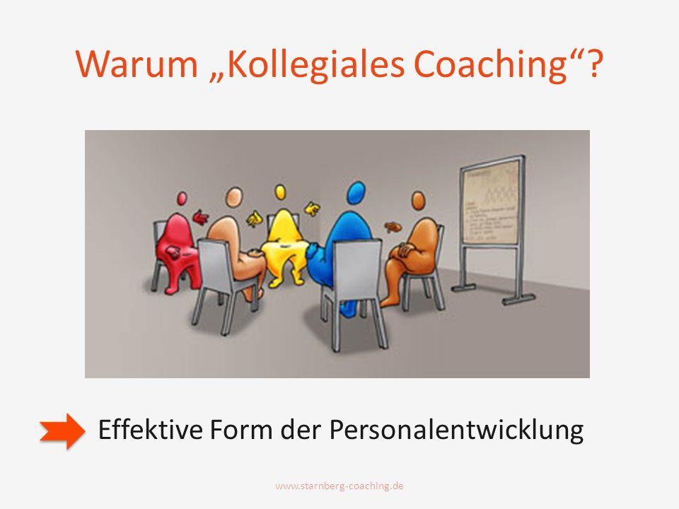 "Warum ""Kollegiales Coaching"