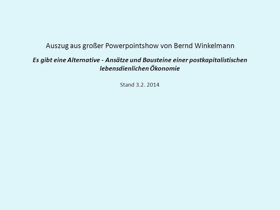 Auszug aus großer Powerpointshow von Bernd Winkelmann