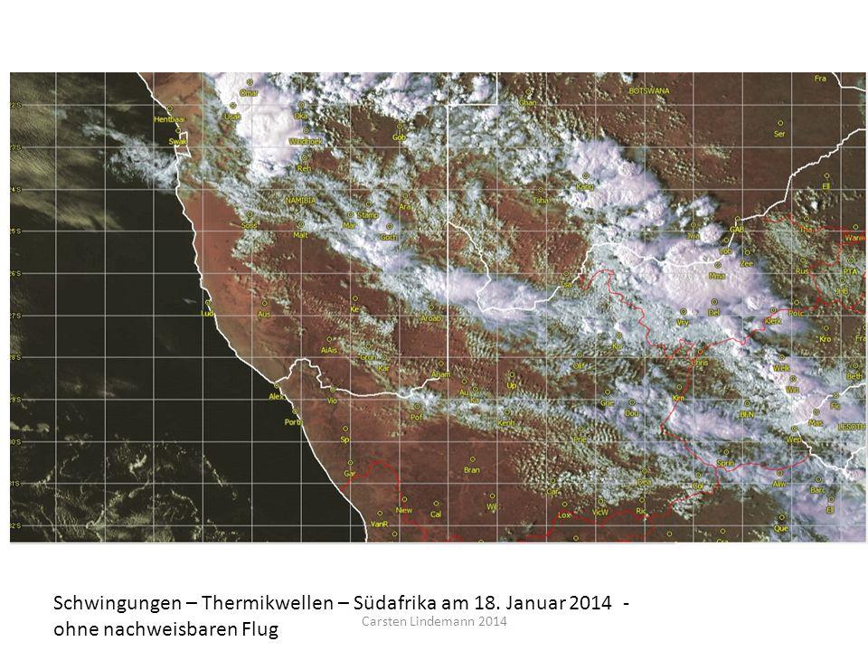 Schwingungen – Thermikwellen – Südafrika am 18