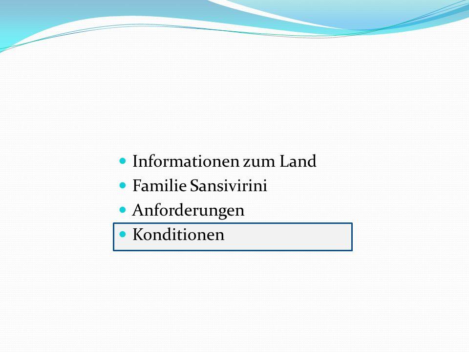 Informationen zum Land