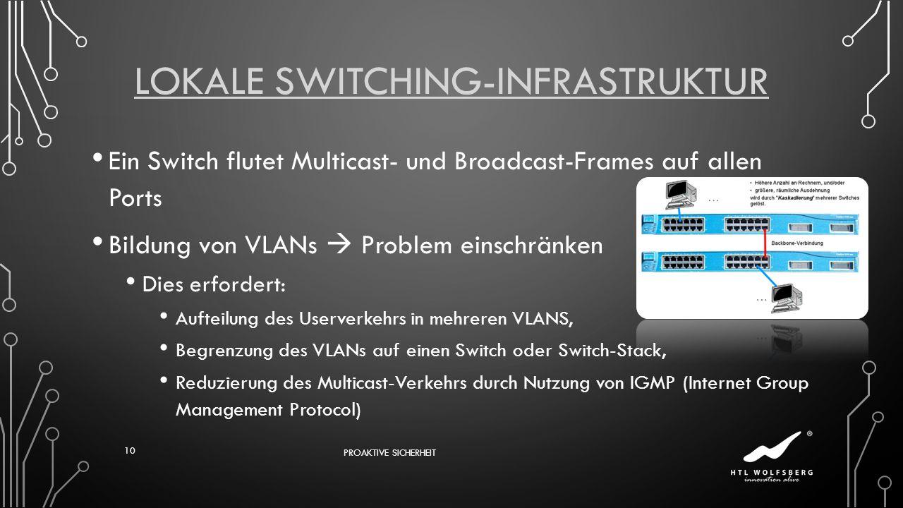 Lokale Switching-Infrastruktur