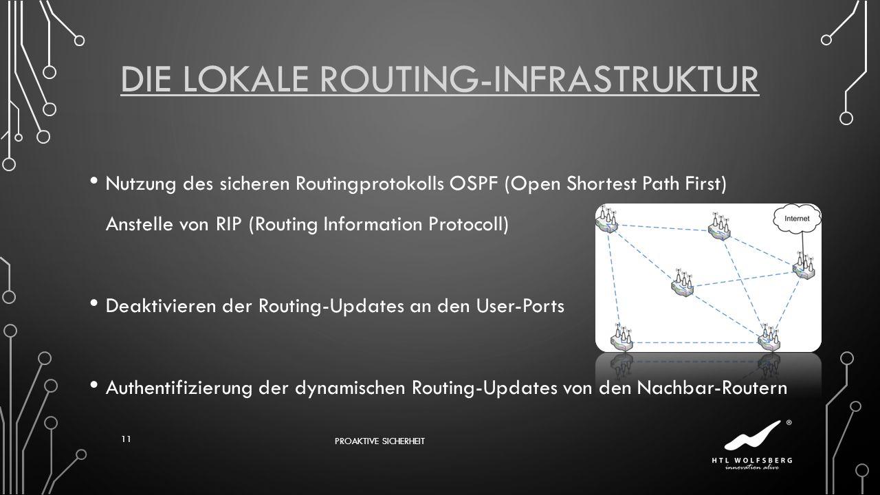 Die Lokale Routing-Infrastruktur