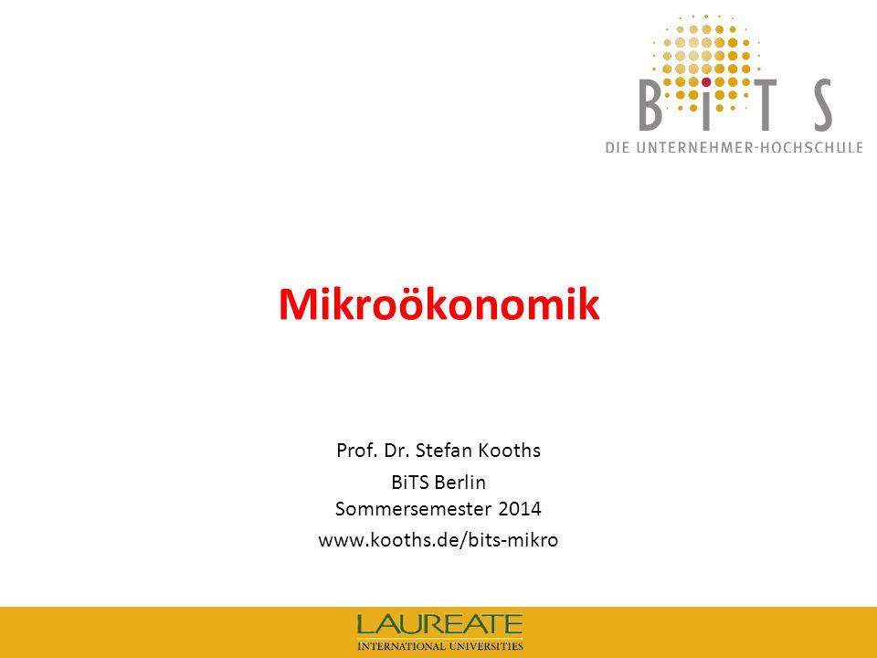 BiTS Berlin Sommersemester 2014