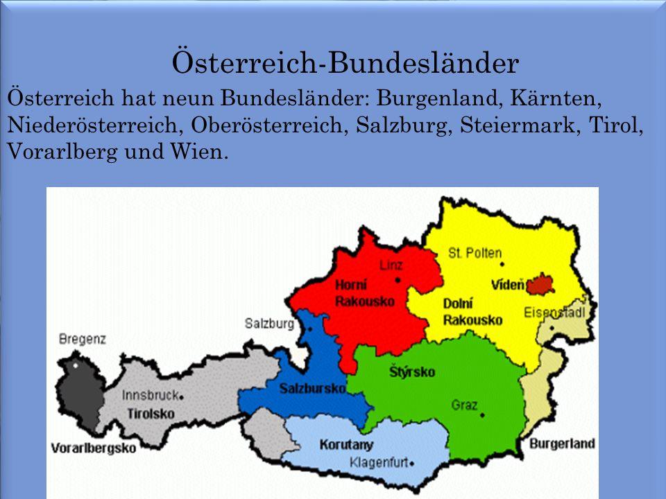 Österreich-Bundesländer