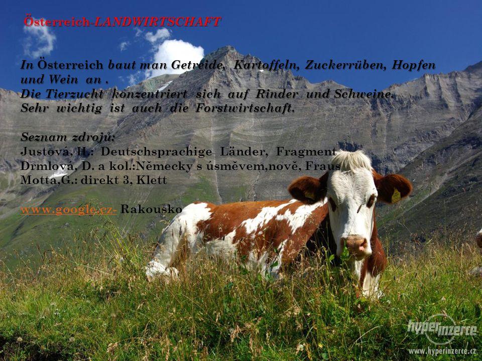 Österreich-LANDWIRTSCHAFT
