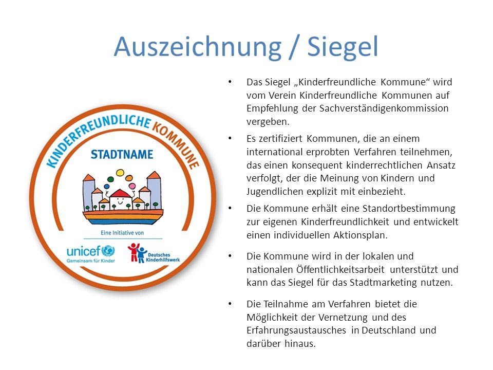 Auszeichnung / Siegel