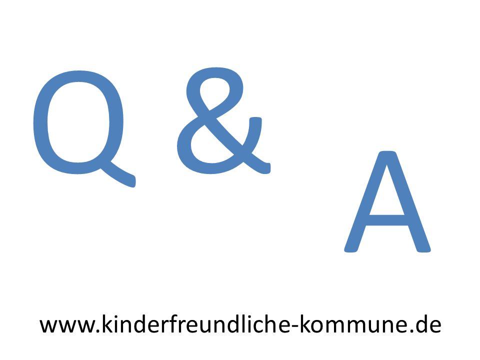Q & A www.kinderfreundliche-kommune.de