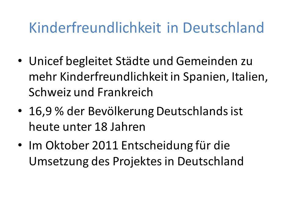 Kinderfreundlichkeit in Deutschland