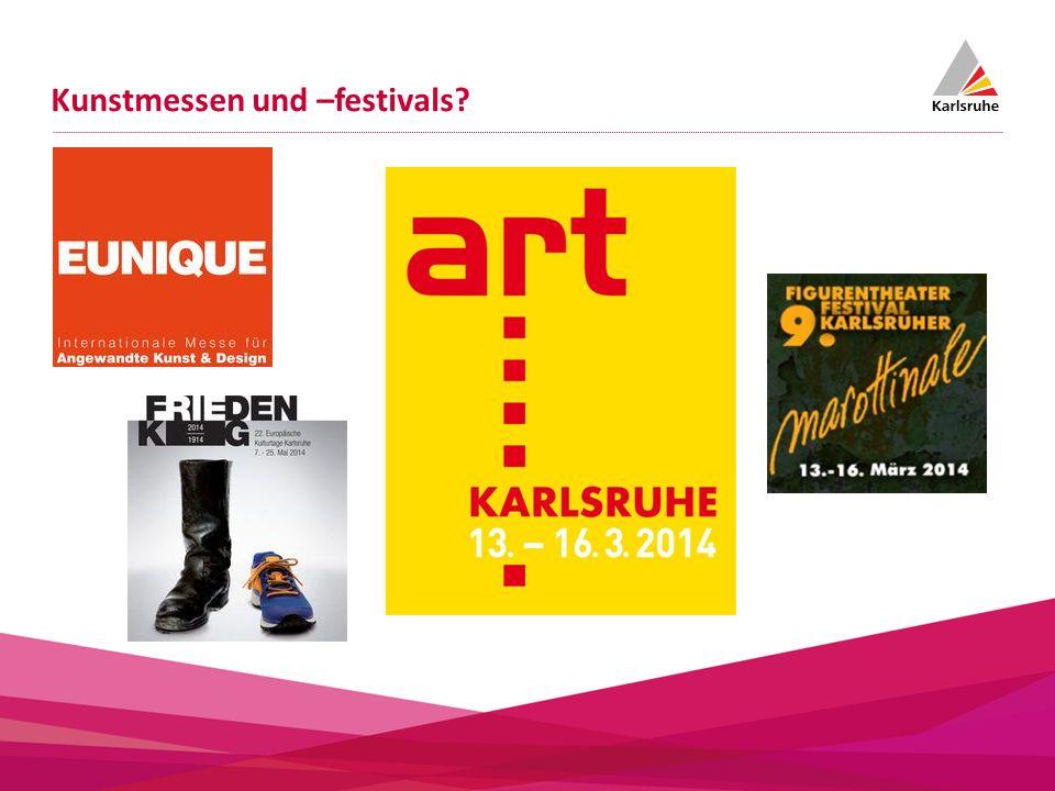 Kunstmessen und –festivals