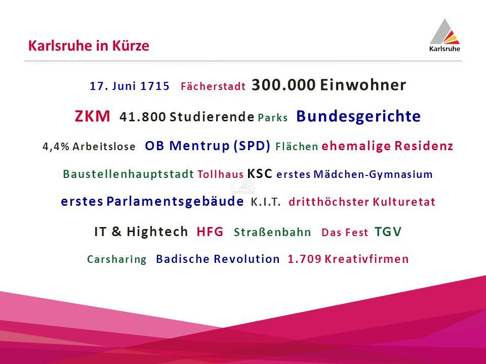 ZKM 41.800 Studierende Parks Bundesgerichte