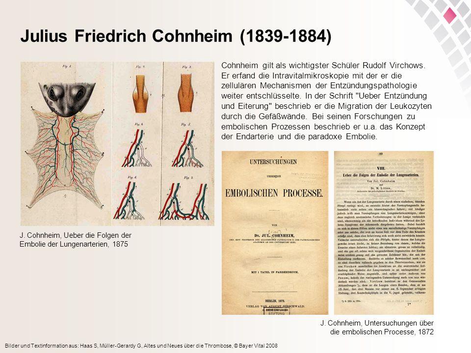 Julius Friedrich Cohnheim (1839-1884)