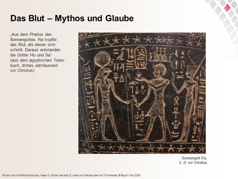 Das Blut – Mythos und Glaube