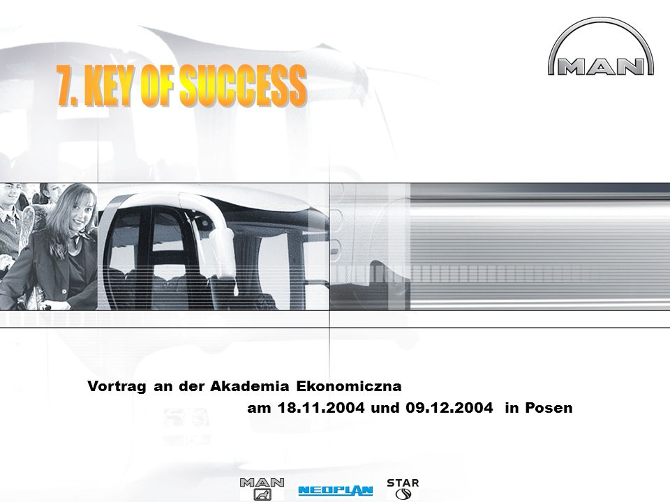 7. KEY OF SUCCESS Vortrag an der Akademia Ekonomiczna