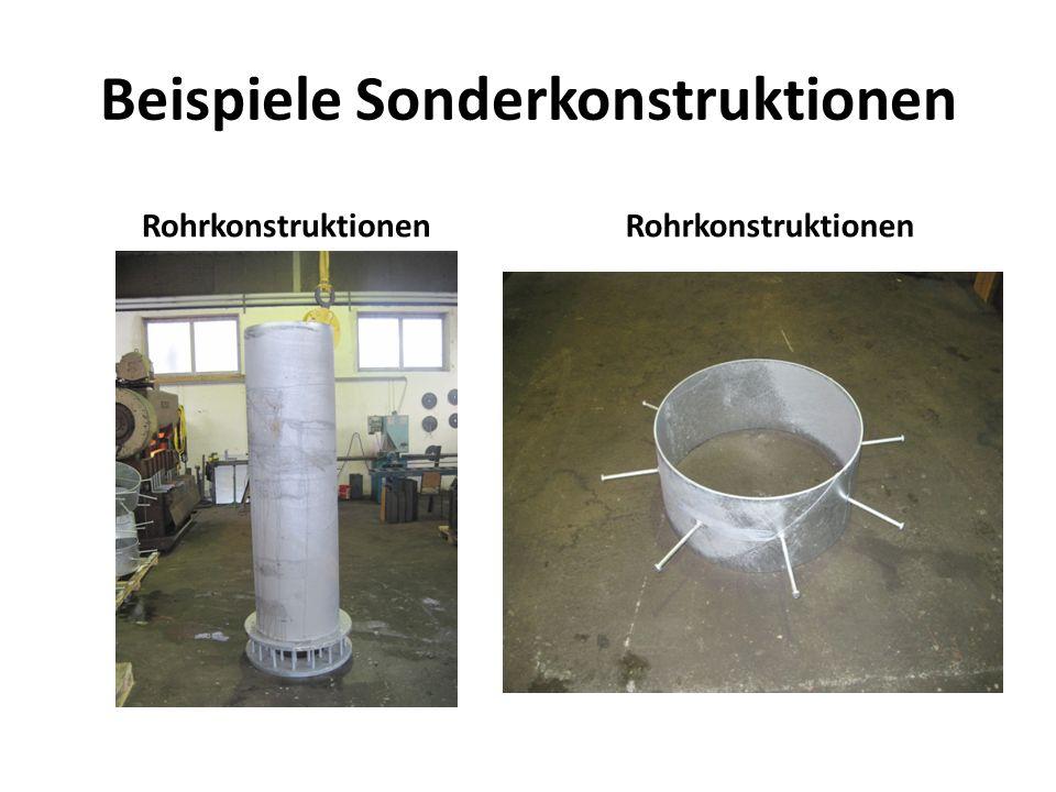 Beispiele Sonderkonstruktionen
