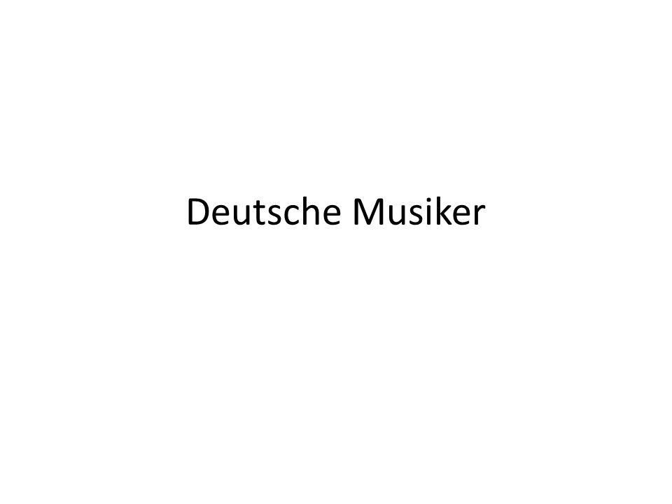 Deutsche Musiker